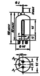 Корпус лампы 6Р3С