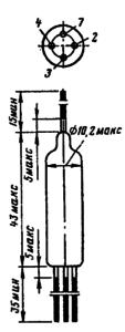 Корпус лампы Эм-7