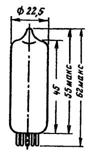 Корпус лампы EF89