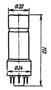 Корпус лампы ФЭУ-35