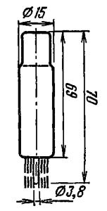 Корпус лампы ФЭУ-68