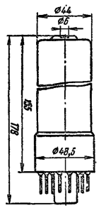 Корпус лампы ФЭУ-106