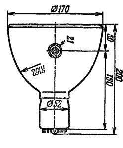Корпус лампы ФЭУ-125
