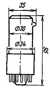 Корпус лампы ФЭУ-62