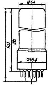 Корпус лампы ФЭУ-79