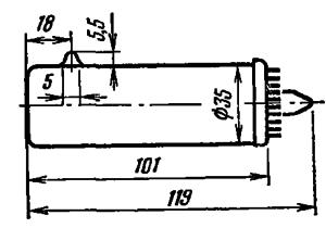 Корпус лампы ФЭУ-83