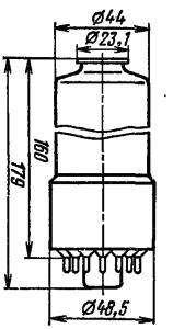 Корпус лампы ФЭУ-136