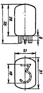 Корпус лампы ИН-12