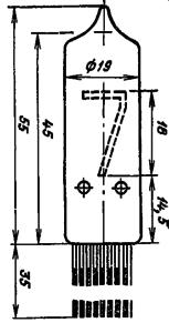 Корпус лампы ИН-14