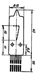 Корпус лампы ИН-16
