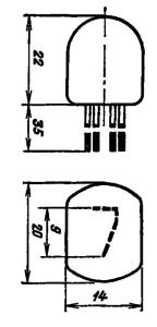 Корпус лампы ИН-17