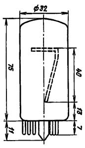 Корпус лампы ИН-18