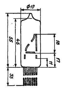 Корпус лампы ИН-23