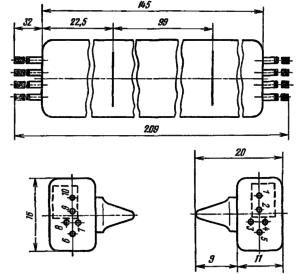 Корпус лампы ИН-26