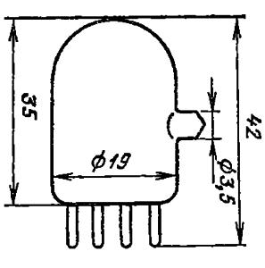 Корпус лампы ИН-2