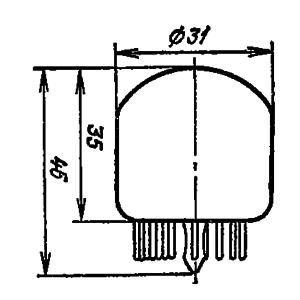 Корпус лампы ИН-4