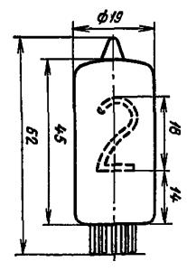 Корпус лампы ИН-8