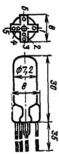 Корпус лампы ТХ16Б