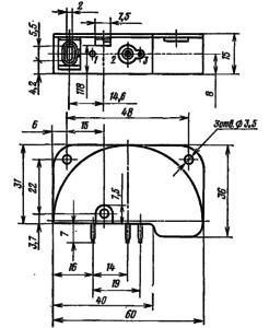 Корпус лампы ВЭУ-4