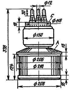 Корпус лампы ГК-9Б