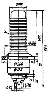 Корпус лампы ГМ-1