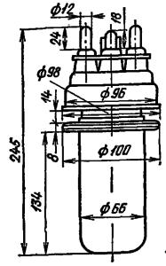 Корпус лампы ГМ-3А