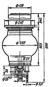 Корпус лампы ГП-6А