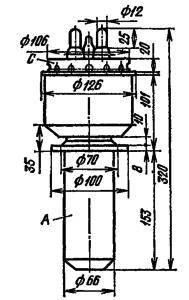 Корпус лампы ГУ-10А