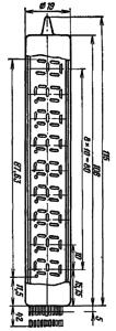 Корпус лампы ИВ-18