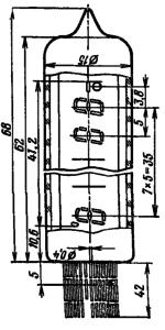 Корпус лампы ИВ-21