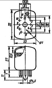 Корпус лампы ИВ-22