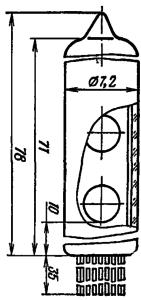 Корпус лампы ИВ-25