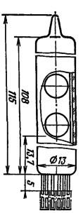 Корпус лампы ИВ-26