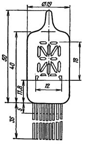 Корпус лампы ИВ-4