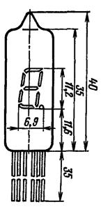 Корпус лампы ИВ-6