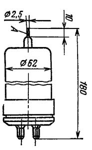 Корпус лампы ТГИ1-130/8