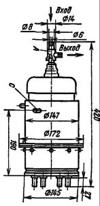 Корпус лампы ТГИ1-2000/35
