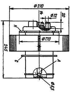 Корпус лампы ТГИ1-3000/30