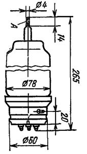 Корпус лампы ТГИ1-400/16