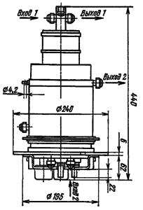 Корпус лампы ТГИ1-5000/50