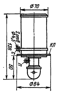 Корпус лампы ТГИ1-500/16