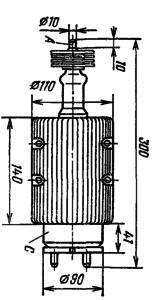 Корпус лампы ТГИ1-500/20