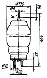Корпус лампы ТГИ1-700/25