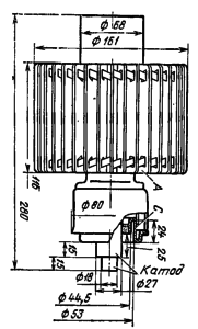 Корпус лампы ГУ-56Б