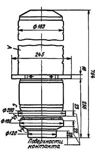 Корпус лампы ГУ-65А
