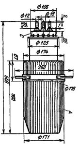 Корпус лампы ГИ-18БМ