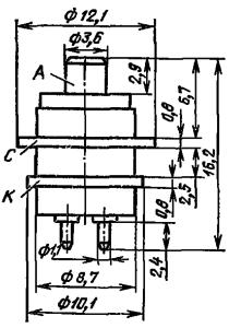 Корпус лампы ГС-19