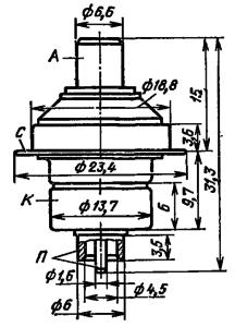 Корпус лампы ГС-21