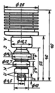 Корпус лампы ГС-29Б