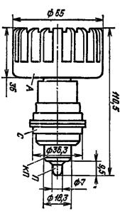 Корпус лампы ГС-9Б